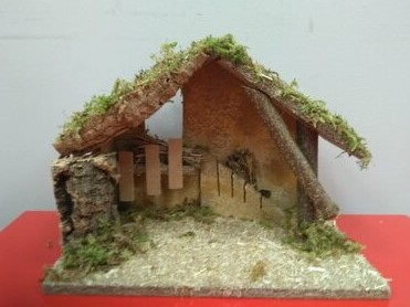 Nativity Shed 89953 No figures