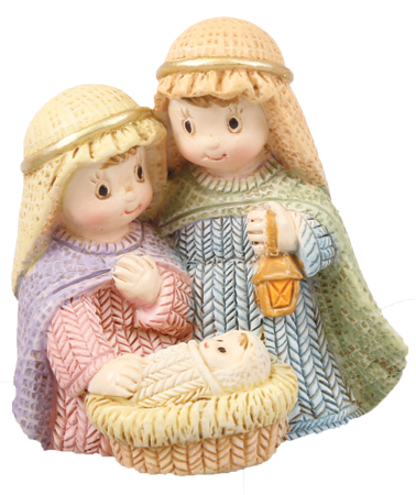 Nativity Set 89221 Resin Holy Family Children's 2