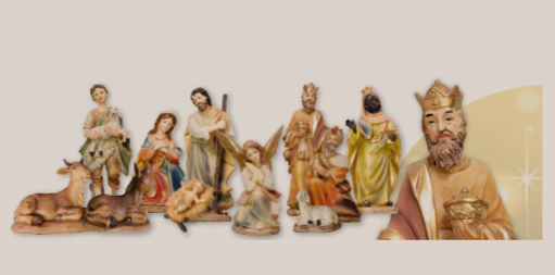 Nativity Set 89308 Resin 11 figures 4 1/2''