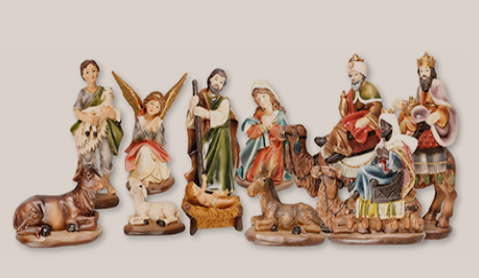 Nativity Set 89425 11 Figures 2 3/4""