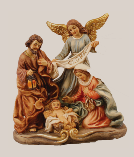 Nativity Set 89634 Resin 4 figures 5""