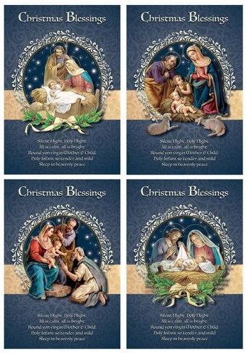 Card Christmas Blessings Box of 18