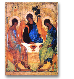 Trinity of Rublev - large print