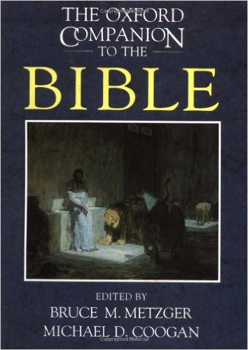 Oxford Companion to the Bible, The