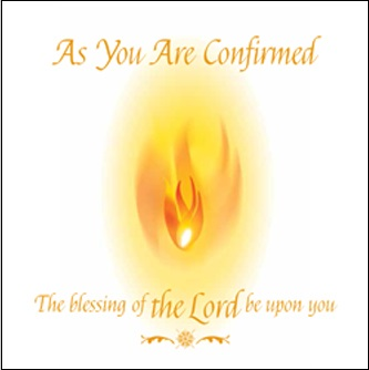 As You Are Confirmed (pack of 5)