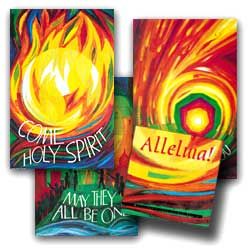 Alleluia - set of 9 posters