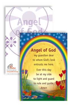 Angel of God - pack of 25 PrayerPosters cards