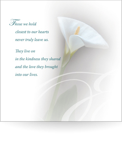 Those we hold close to our hearts (Pack of 5)