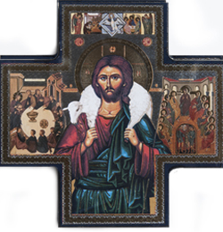 Icon Cross Good Shepherd