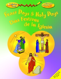 Feast Days & Holy Days - Colouring book
