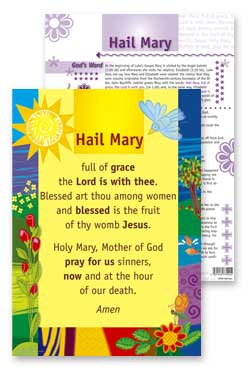 Hail Mary - PrayerPosters
