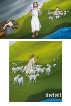 Jesus the Good Shepherd - poster