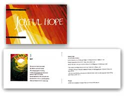 Joyful Hope  - bookletJoyful Hope  - Booklet