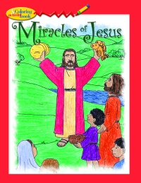 Miracles of Jesus - Colouring book