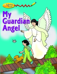 My Guardian Angel - Colouring book