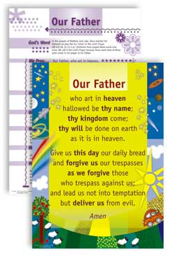 Our Father - PrayerPosters