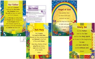 PrayerPosters - set of 4 posters