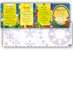 PrayerPosters Cards - pack of 10 concertina cards