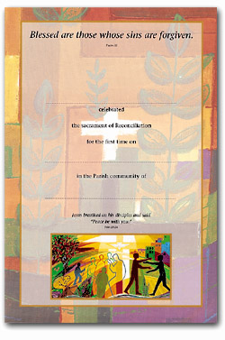 Reconciliation - Certificate No.1 - pack of 25
