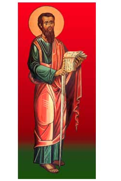 The Apostle Paul  -  bookmark - pack of 10