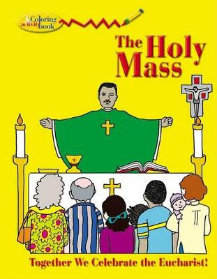 The Holy Mass - Colouring book