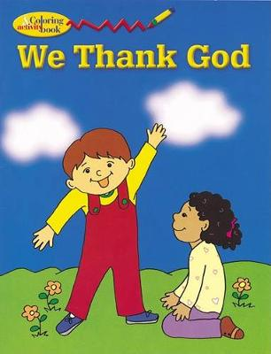 We Thank God - Colouring book